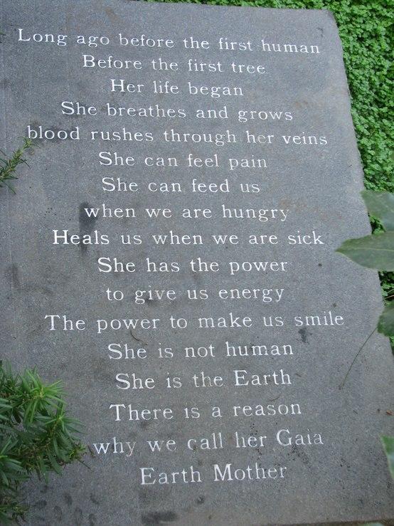 Uitzonderlijk Engels Gedicht – Gaia / moeder aarde | ~ * Pagan Ouderschap  @KO-06