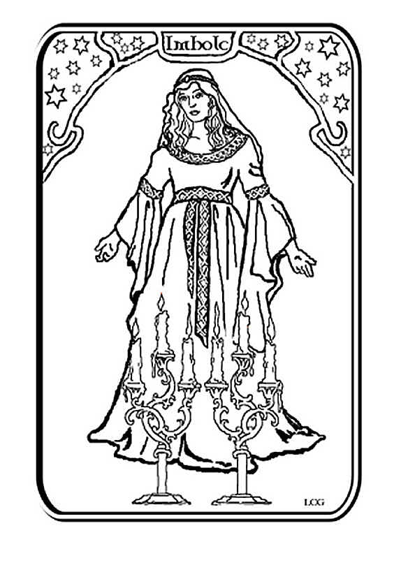 free wiccan coloring pages - photo#21