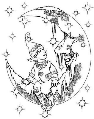 melodie the music fairy coloring pages   littleheksje   ~ * Pagan Ouderschap / Pagan Parenting ...