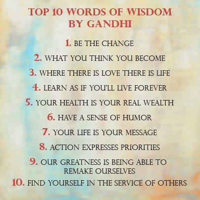 spreuken van gandhi Top 10 wijsheid van Gandhi …. | ~ * Pagan Ouderschap / Pagan  spreuken van gandhi