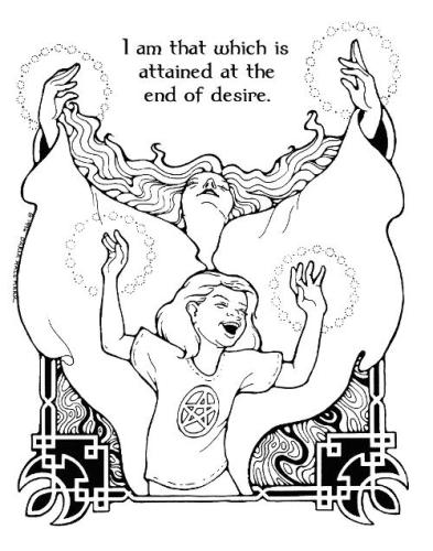 pagan yule coloring pages - photo #18