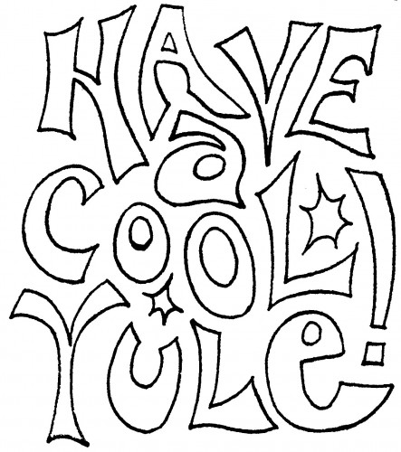 pagan yule coloring pages - photo #19