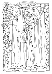 candlemas coloring pages | Kleurplaten / Coloring pages | ~ * Pagan Ouderschap ...
